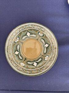 """buffalo 1911 emerald  deldare 4"""" saucer plate"""