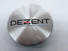 Original Dezent Nabenkappe silber 56/60 mm N07 ZT2000 Nabendeckel Alu
