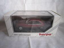 DV6316 HERPA MERCEDES 600 SEL Ref 070003 1/43 Neuf Boite