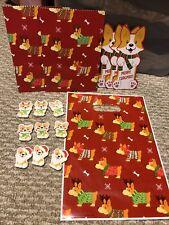 New! 15 Piece Pembroke Welsh Corgi Gift Set, Stocking Stuffer Eraser Book Mar. B