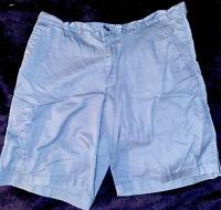 "Columbia Mens Navy Blue Cargo Shorts 38"" W 10"" Inseam"