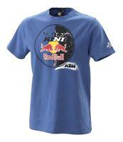 KTM Kini Red Bull Circle Tee Blue Cotton T-Shirt New RRP £30.60!!