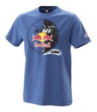 KTM Kini Red Bull Circle Tee Blue Cotton T-Shirt New