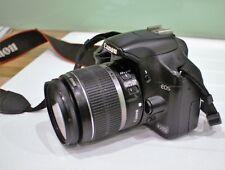 Canon EOS 450D Appareil Photo Numérique 18-55 mm et Objectif 75-300 mm Chargeur, 2 batteries sac