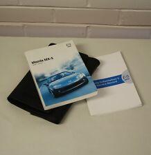 Mk2.5 NBFL Mazda MX5 OWNERS HANDBOOK /& WALLET manual hand book 01-05