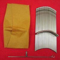 NEU 100 Nadeln für Brother Strickmaschinen KR587 - KR850 KnittingMachine Needles