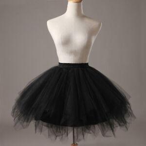 UK Women Adult Lady Tutu Tulle Skirt Fancy Skirt Dress Up Party Dancing Dress N1
