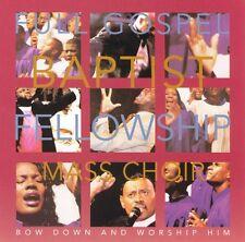 Full Gospel Baptist mass Choir - Bow Dow And Worship Him - New factory sealed CD