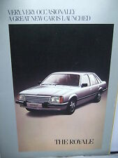 The Royale - Vauxhall Colour Illustrated Brochure 1978