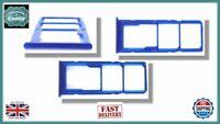 for Samsung Galaxy A50 A505F Micro SD / Dual SIM Card Tray Holder BLUE