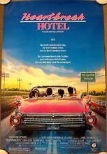 HEARTBREAK HOTEL Original (1988) 27x40 Movie Poster ELVIS ROLLED MINT CONDITION!