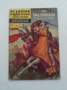 Classics Illustrated #111 - THE TALISMAN  - HRN 112 VG