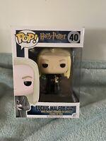 Funko Pop - Harry Potter - #40 - Lucius Malfoy Vinyl Figure **rare**