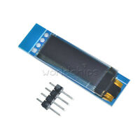 "IIC I2C 0.91"" 128x32 White OLED LCD Display Module DC 3.3V 5V For Arduino PIC"