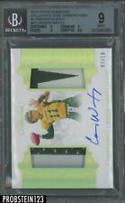 2018 Panini Flawless #43 Carson Wentz RPA Rookie 2-Color Patch AUTO /10 BGS 9