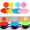 Silicone Coffee Mug Suction Lid Cap Airtight Sealed Flo Cup Cover Leakproof E0B4