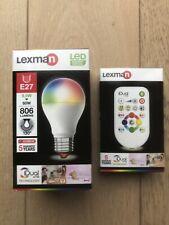 Ampoule Led Lexman iDual Couleur E27 9,5W 60W 80lm Neuve + Télécommande