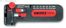 KNIPEX - 1280100SB - CABLE STRIPPER, MINI