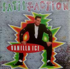 "7"" 1991 CV ROLLING STONES ! VANILLA ICE : Satisfaction"