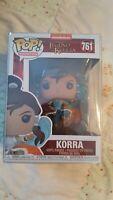 Funko POP Animation: Legend of Korra- Korra #761 Vinyl Figure New