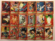 Dragon ball Z Super battle Power Level PART 17 Reg Set 38/38