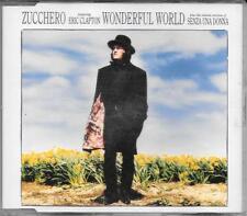 "ZUCCHERO - RARO CDs 1991 "" WONDERFUL WORLD "" ERIC CLAPTON"
