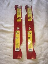 """(2) Oregon 534823 Lawn Mower Blades 38"""" W/ Fusion - Set Of 2 - Replaces 942-0610"""
