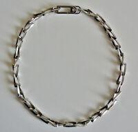 Collier acier diamant MORELLATO Steel diamond Necklace Stahl Halskette Collana