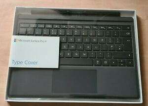 BRAND NEW sealed box Microsoft Surface Pro 3/4/5 Type Cover - Black (R9Q00010)