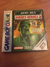 Gameboy Army Men Sarge's Heroes 2 CIB Free Uk Postage