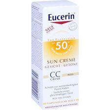 EUCERIN Sun CC Crema tintadas claro LSF 50+ 50 ml PZN11321291