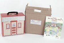 Effanbee Wee Patsy Travel Set 2 Dolls Accessories Trunk Paper Dollhouse Book