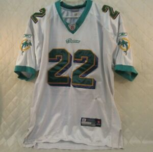 Reggie Bush Miami Dolphins No 22 Jersey Size 52 Reebok NFL 2011 2012 Football