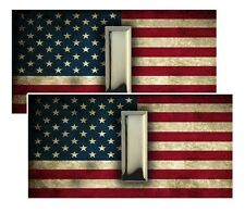 American Flag Sheriff Police Lieutenant Rank Decals Pack Of Two