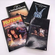 Lot of Screenplay Shooting Scripts Pulp Fiction Donnie Darko Coen Bros Shawshank