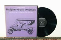 Ragtime Piano Originals - LP 1974 Smithsonian Folkways Traditional Jazz - NM