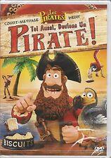 DVD ZONE 2--LES PIRATES LE COURT METRAGE--TOI AUSSI DEVIENS UN PIRATE--NEUF