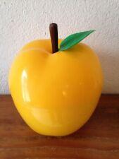 BAC à Glaçons  Pomme jaune avec feuille   Seau à glace an 70's  03decC