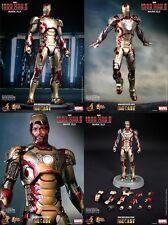 -=] HOT TOYS - Iron Man Mark XLII 42 Diecast Movie Masterpiece 12inch [=-