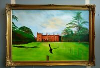 Shenton Hall Signed by D. Towlson Original Painting Framed PICK UP ONLY