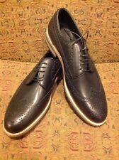 Gordon Rush Men's leather Black Oxford Shoes Size 10.5 $495