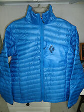 BLACK DIAMOND HOT FORGE DOWN INSULATED JACKET MEN'S LARGE (L) SAPPHIRE $299