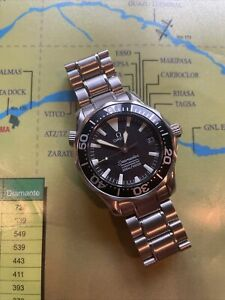 Omega Seamaster 300 Professional 2252.50 Sword Hands Black Dial 36mm Automatic