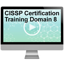 CISSP Certification Training Domain 8 Video Training Course