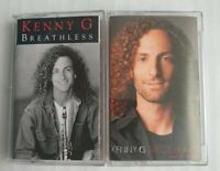 Kenny G Cassette Lot Breathless & Six of Hearts Arista Records