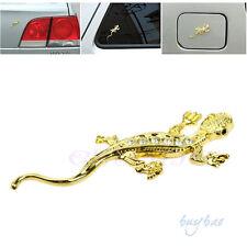 3D Gecko Metal Emblem Badge Car Truck Auto Motor Sticker Note Decals Symbol Part