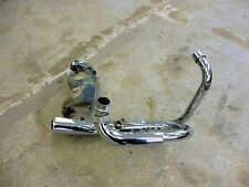 1984 Honda Shadow VT500 H1373. exhaust headers and collector