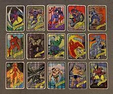 1990 Marvel Universe Vending Machine Foil Prism Stickers Card Singles You Choose