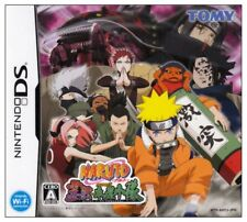 Used Nintendo DS NARUTO RPG 3 Reijuu vs Kinoha Konoha Shoutai Import Japan