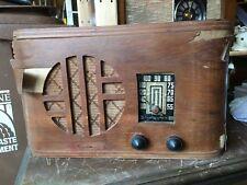 VINTAGE Radio Emerson wood . 5 tube , model W-334-13